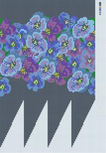 Neue Muster: Veilchen