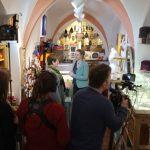 uuuund: Äktschn! Das Bayerische Fernsehen hat mich im Carakess besucht