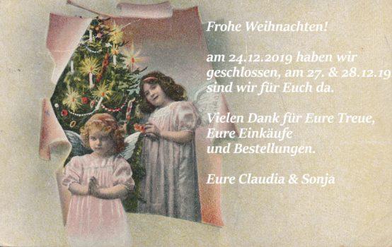 Postkarte Frohe Weihnachten Carakess