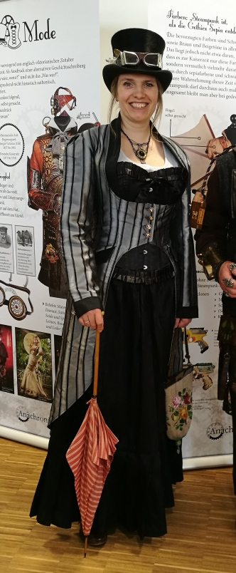 Claudia Flügel-Eber Steampunk Kostüm