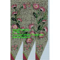 Gänseblümchen Mustervorlage Perlbeutel Carakess