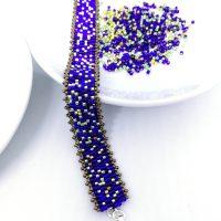 Perlenmischung für Armband fädeln peyote DIY