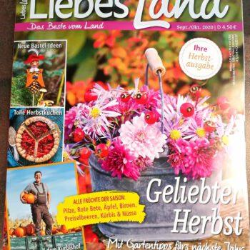 Carakess in der Zeitschrift Liebesland Sept/Okt 2020
