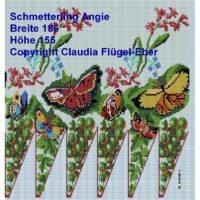 Perlbeutel Schmetterling